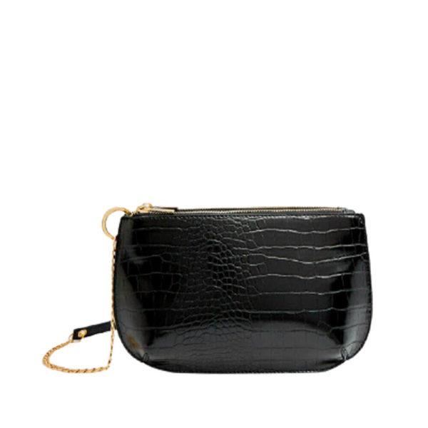 Stradivarius черная женская сумка через плечо из Испании