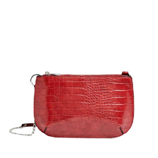 Красная женская сумка через плечо Stradivarius