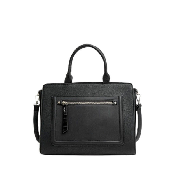 Черная женская сумка на каждый день Stradivarius