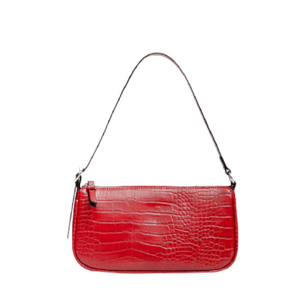 Популярная красная женская сумка Stradivarius