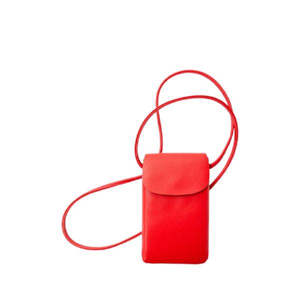 Красная сумка для смартфона Stradivarius