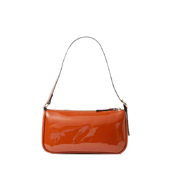 Stradivarius коричневая женская мини сумочка
