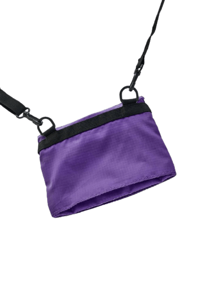 Pull&Bear Маленькая фиолетовая сумка на плечо