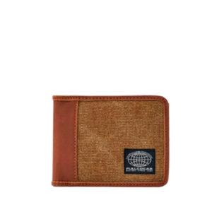 Мужской коричневый бумажник Pull&Bear