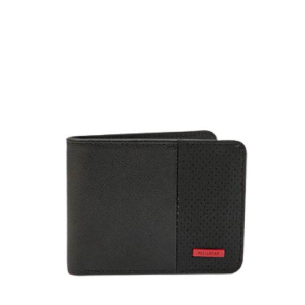 Черный классический бумажник Pull&Bear