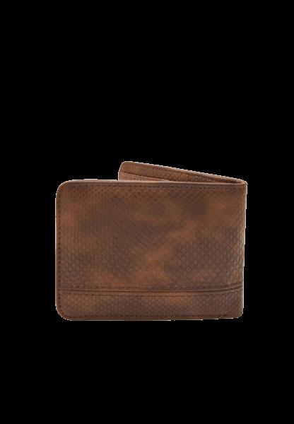 Мужское коричневое портмоне Pull&Bear