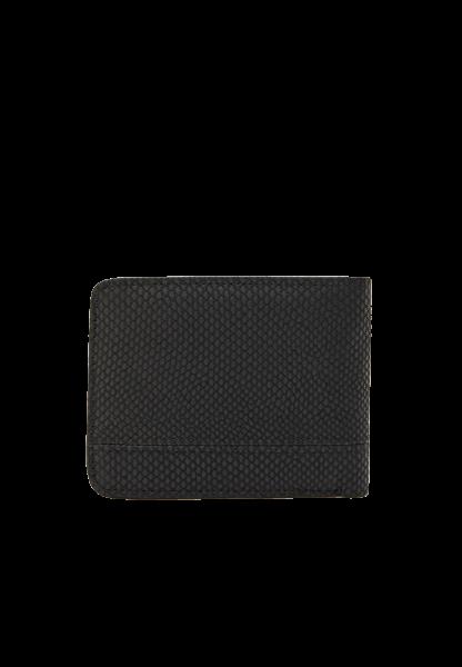 Небольшой мужской черный бумажник Pull&Bear