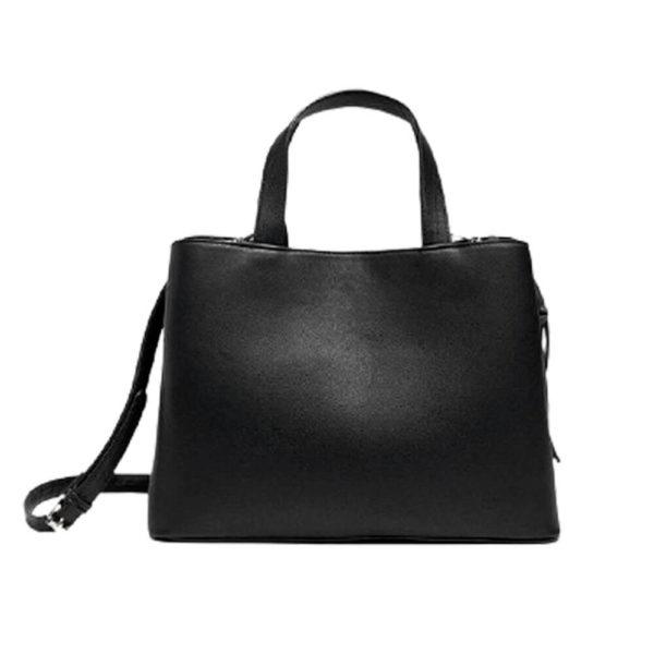 Stradivarius женская черная сумка на молнии
