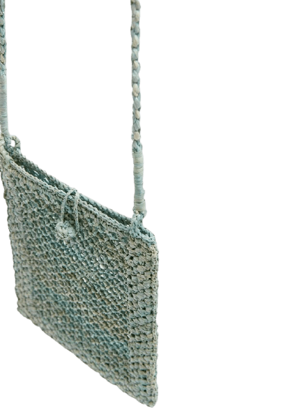 Небольшая женская вязаная сумочка через плечо Pull&Bear