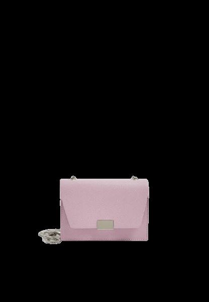 Женская фиолетовая сумка на плече Pull&Bear