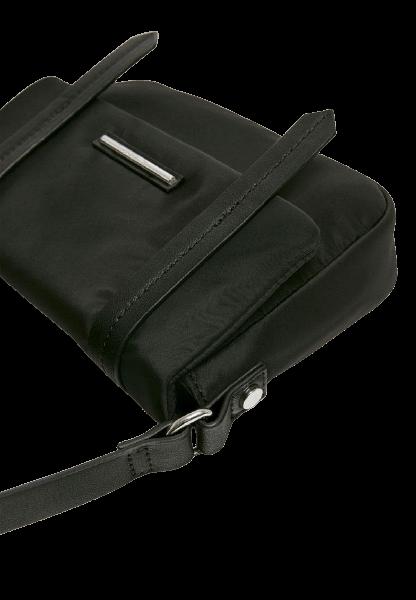 Черная женская сумка на плечо Pull&Bear
