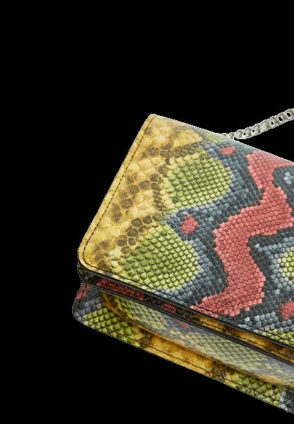 Женская сумочка расцветки змеиная кожа Pull&Bear