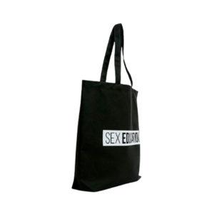 Большая черная сумка Pull&Bear