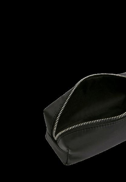 Черная косметичка на молнии Pull&Bear