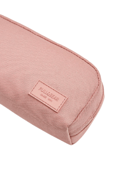 Женская розовая косметичка Pull&Bear