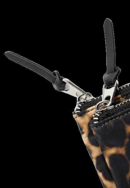 Женский кошелек леопардовой расцветки Stradivarius