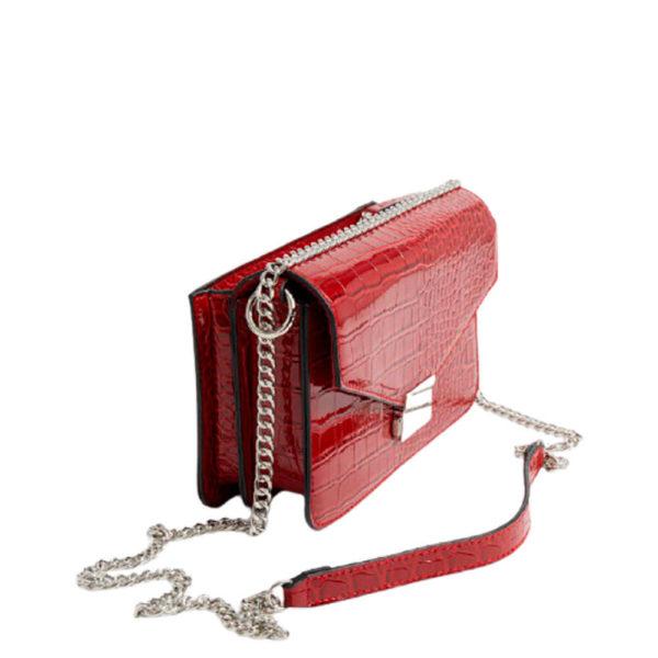 Женская наплечная красная сумка Stradivarius