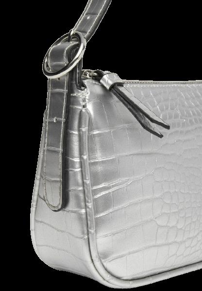 Модная серебристая женская сумка Stradivarius
