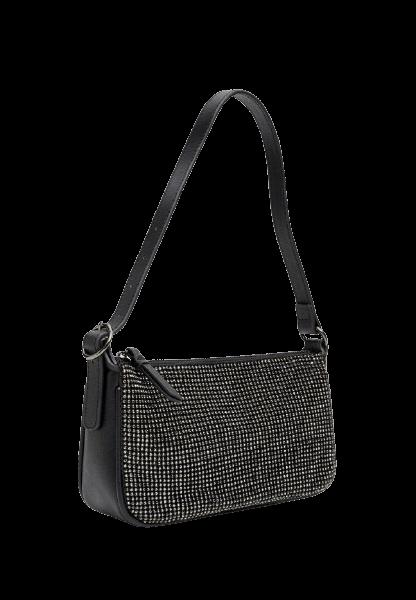 Черная женская сумка на молнии Stradivarius