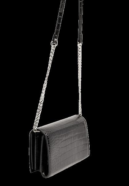 Черная женская сумка через плечо Stradivarius