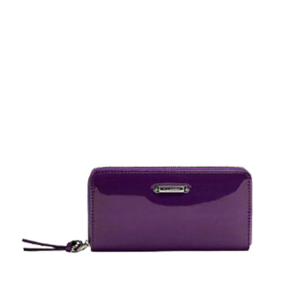 Женский фиолетовый кошелек Pull&Bear