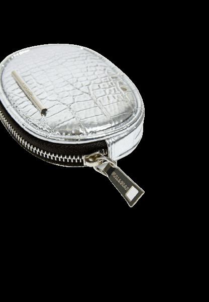 Овальный мини кошелек на молнии Pull&Bear