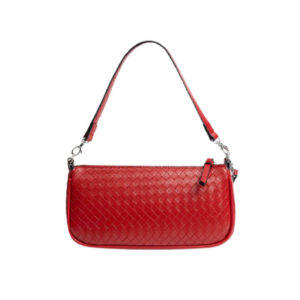 Красная недорогая дамская сумка Stradivarius