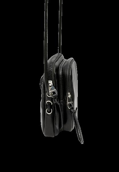 Черная женская сумка через плечо на молнии Stradivarius