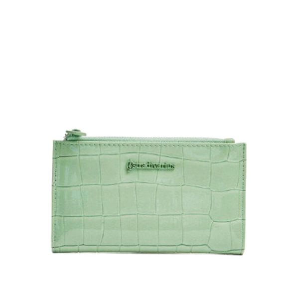Женский кошелек светло зеленого цвета Stradivarius