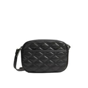 Женская черная сумка на молнии Stradivarius