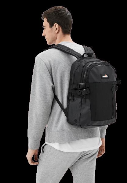 Ellesse LAMONI BACKPACK Черный городской рюкзак из текстиля