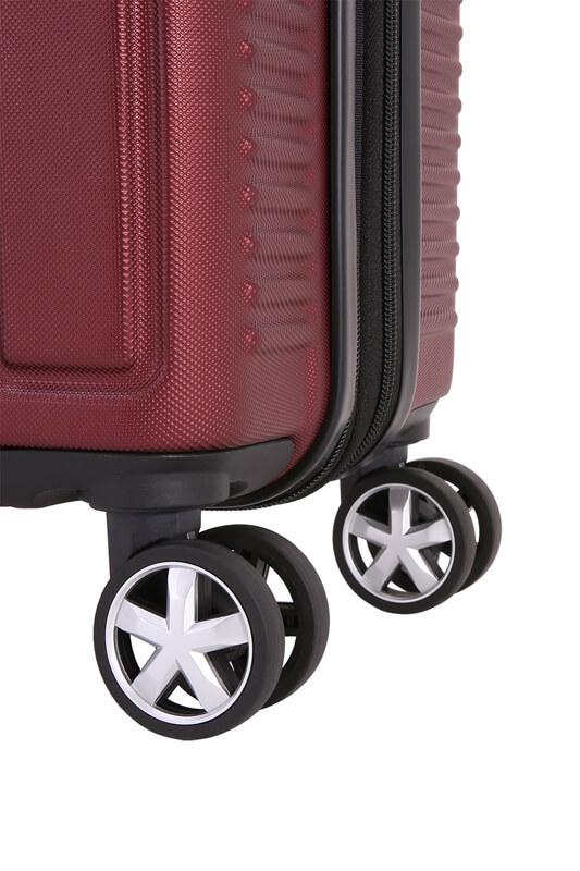 Большой красный чемодан на 4 колесах VAUD WENGER 99л. WGR6399131177