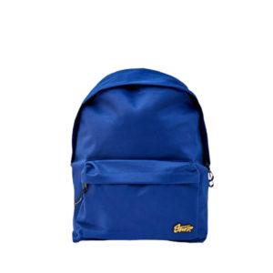 Синий школьный рюкзак Pull&Bear