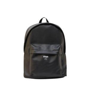 Черный рюкзак из искусственной кожи Pull&Bear