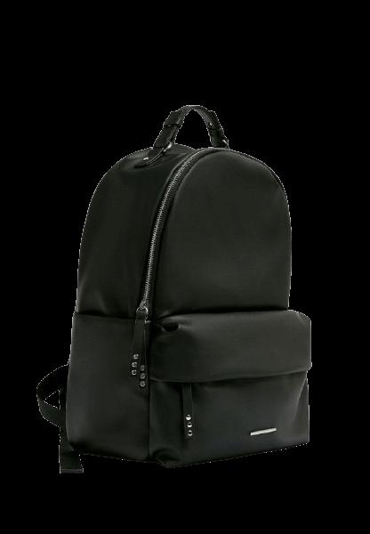 Стильный городской черный рюкзак Pull&Bear