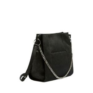 Черная женская сумка с плечевым ремнем Pull&Bear