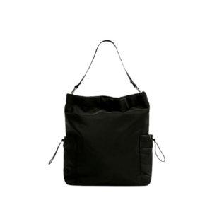 Черная универсальная сумка на каждый день Pull&Bear