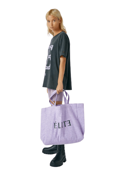 Большая женская фиолетовая сумка Pull&Bear