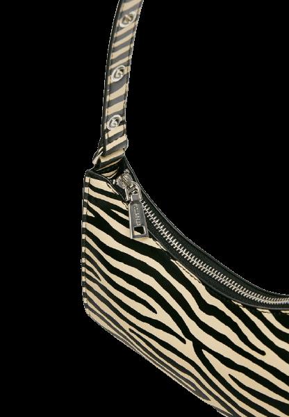 Женская сумка зебра на молнии Pull&Bear