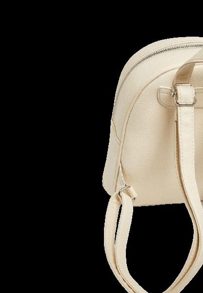 Прелестный женский рюкзак бежевого цвета Pull&Bear