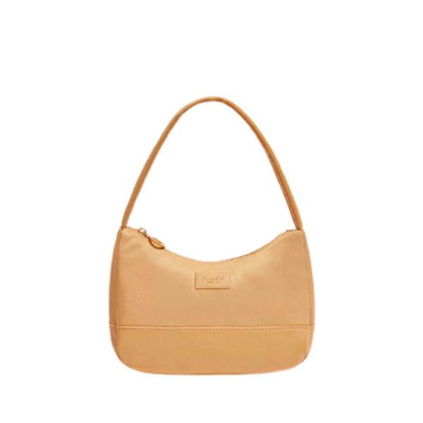 Желтая женская сумка на руку Pull&Bear