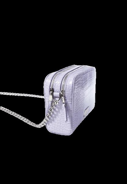 Фиолетовая сумочка с цепочкой на плече Bershka