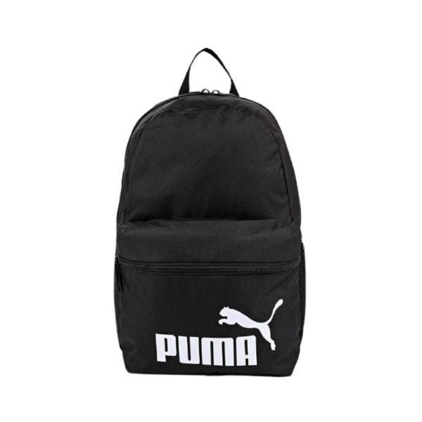 Черный удобный школьный портфель Puma