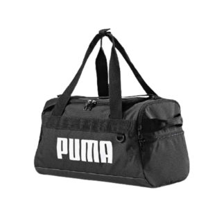 Большая спортивная сумка черного цвета Puma