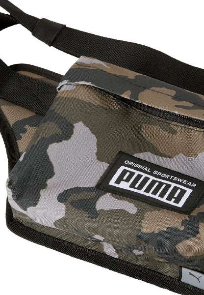Сумка на пояс для вещей цвета хаки от бренда Puma