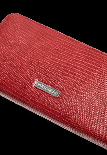 Красный дамский кошелек на молнии Pull&Bear