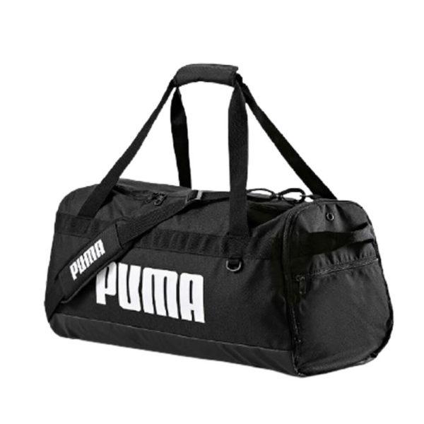 Спортивная вместительная сумка с широким ремнем Puma