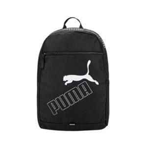 Черный школьный рюкзак с логотипом Puma Phase Backpack II