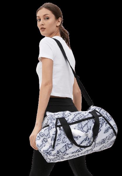 Дорожная сумка Пума AT ESS barrel bag из влагонепроницаемого текстиля