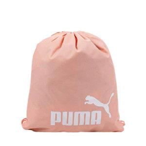 Женский розовый рюкзак мешок на завязках Puma Phase Gym Sack